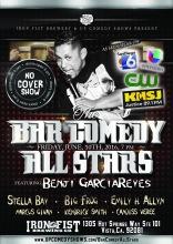 06.10.16 Bar Comedy All Stars - Iron Fist June