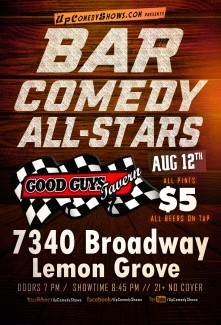 Bar Comedy All Stars 08.12