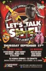 9.27.12 S.Briggs.LetsTrashTalk at Brass Rail