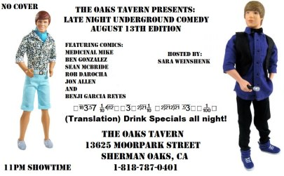 aug 13th oaks tavern