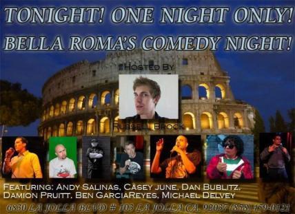 Bella Roma 11.26.11 Ben G