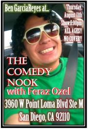 Ben G Comedy Nook 8.11.11
