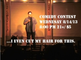 Ben G New Hair Wed 8.14.13 contest promo