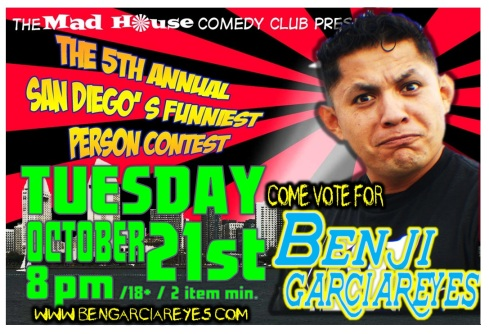 Benji 5th annual Mad House Contest