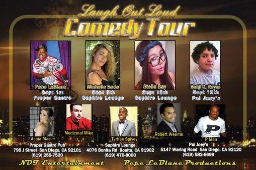 Benji LOL Fall 2012 Tour poster