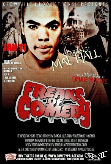 Crew II Jan 11th Comedy Palace Show