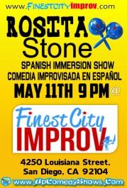 Finest City Improv Rosita Stone May 11.2014