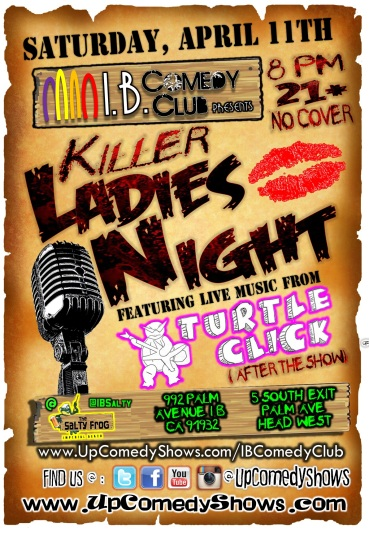 IBCC at TSF 04.11.15 Killer Ladies Night 1.0