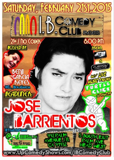 IBCC at TSF Jose Barrientos 02.21.15 w Turtle Click