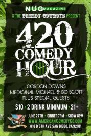June 27th 2012 420 Comedy show ACC