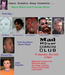 Mario Mann and Friends