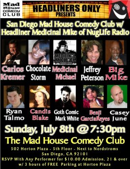 Mike MItchell Show 7.8.12 MEdi MIke