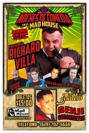 Noche De Comedia en Madhouse Mayo 4