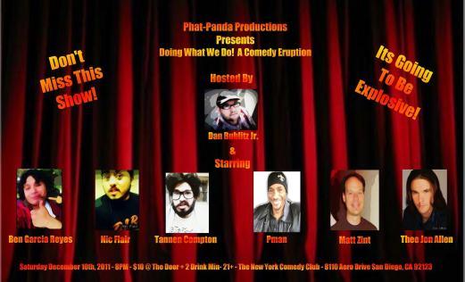 Phat Panda Show 12.10.11 Ben G
