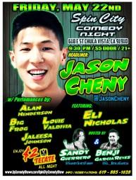 SPIN CITY COMEDY 05.22.15 Jason Chen 1.0