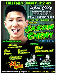 SPIN CITY COMEDY 05.22.15 Jason Chen 1.0