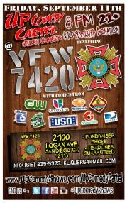 VFW 7420 Up Comedy Cartel General