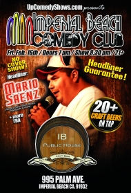 02.16.18 IB Comedy Club - Mario Saenz