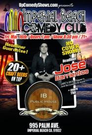 03.16.18 IB Comedy Club - Jose Barrientos