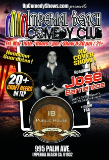 03.16.18 IB Comedy Club - Jose Barrientos