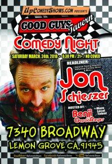 Good Guys Comedy Night - 03.24.18.- Jon Shieszer