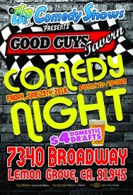 Good Guys Comedy Night - 06.29