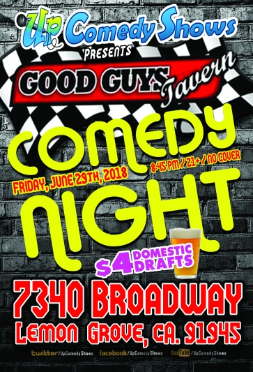 Good Guys Comedy Night - 06.29