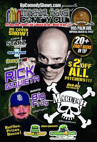 08.10.18 - IBCC - Rick Izquieta and Marujah