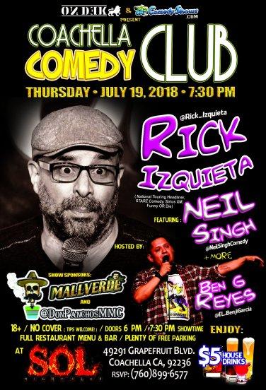 Coachella Comedy Club - 07.19.18