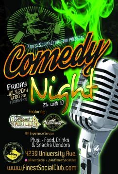 Finest Social Comedy Night - 07.20