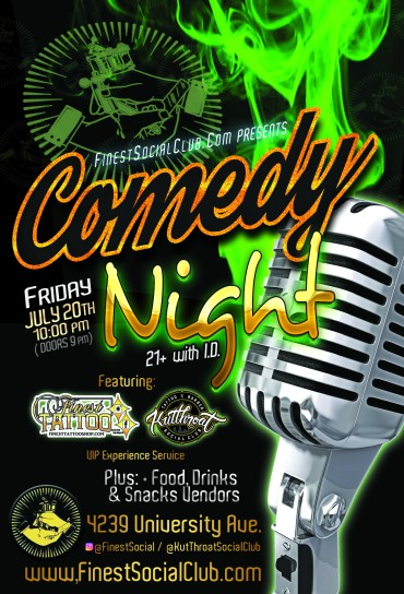 Finest Social Comedy Night - 07.20