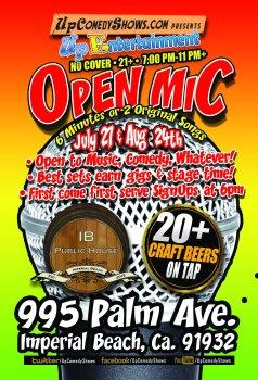 IBCC Open Mic - July