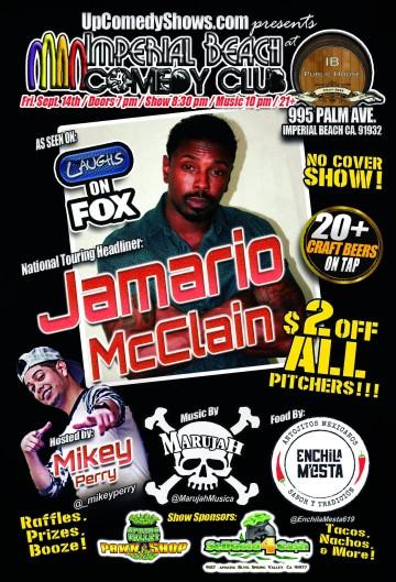 08.10.18 - IBCC - Jamario McClain - Gen Poster
