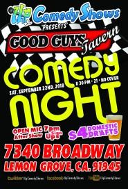 Good Guys Comedy Night - 09.22
