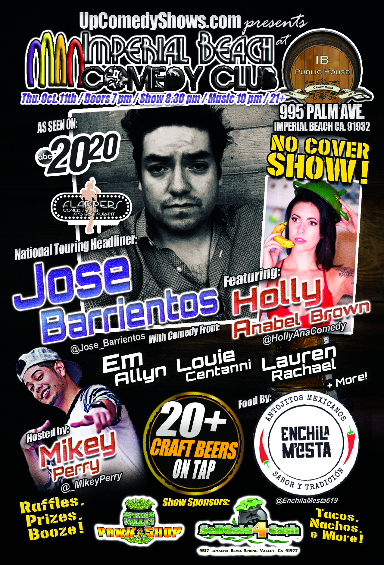 10.11.18 - IB Comedy Club - Jose Barrientos- General Poster 3.0.jpg