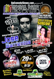 10.11.18 - IB Comedy Club - Jose Barrientos- General Poster 3.0