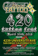Finest Tattoo 4.20.19 - flyer 2.0