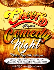Cheers Ramona Comedy Night - Gen Poster - 05.10.19